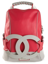 Chanel Vintage Cc Sport Backpack