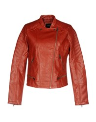 Pepe Jeans Coats And Jackets Jackets Brick Red