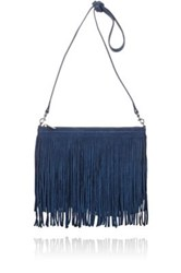 Barneys New York Women's Alexa Shoulder Bag Blue