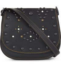 Coach 1941 Western Rivet 23 Leather Saddle Bag Bp Chalk