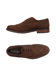 At.P. Co At.P.Co Lace Up Shoes Dark Brown