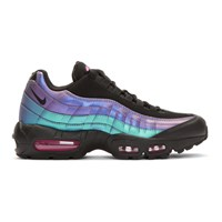 Nike Black And Purple Air Max 95 Prm Sneakers