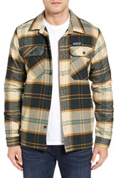 Patagonia Men's 'Fjord' Flannel Shirt Jacket