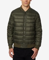 32 Degrees Men's Packable Bomber Jacket Olive