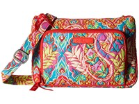 Vera Bradley Little Hipster Paisley In Paradise Cross Body Handbags Multi