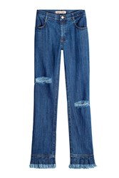 Maggie Marilyn Stonewashed Flare Jeans Blue