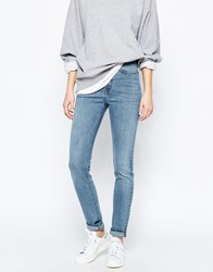 Weekday Thursday High Waist Skinny Jeans I Blue
