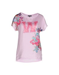 Who S Who Topwear T Shirts Women Lilac