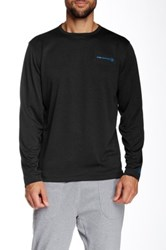 Free Country Reversible Long Sleeve Pullover Black