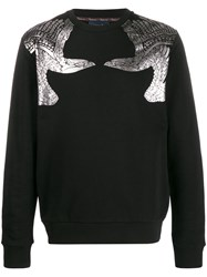 Class Roberto Cavalli Metallic Bird Sweatshirt 60
