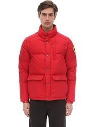 Ciesse Piumini Dakota Cotton Down Jacket Red