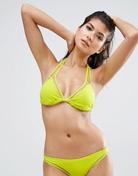 Asos Fuller Bust Mix And Match Mesh Double Strap Soft Triangle Dd F Beat Nude Green