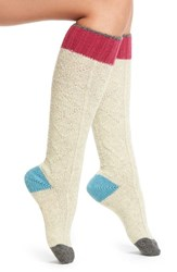 Urban Knit Women's Cable Knee High Socks