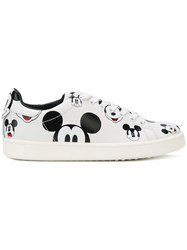 Moa Master Of Arts Printed Mickey Sneakers White