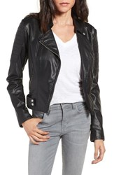 Andrew Marc New York Women's Leanne Faux Leather Jacket