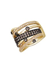 Le Vian 14K Yellow Gold Chocolate And White Diamond Ring