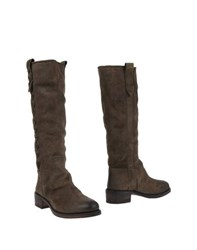 El Campero Footwear Boots Women Military Green