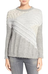 Current Elliott Women's Mixed Cable Knit Sweater