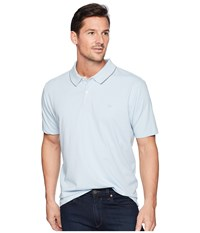 Dockers Solid Signature Polo Skyway Clothing Blue