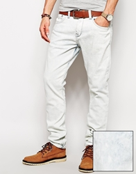 Pull And Bear Pullandbear Skinny Fit Jeans In Bleach Wash Bleachwash