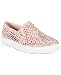 Material Girl Eidyth Slip On Embellished Sneakers Only At Macy's Women's Shoes Blush