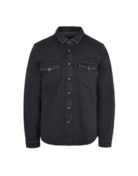 8 Denim Denim Shirts Black