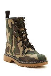 Godiva Toby Lace Up Boot Green