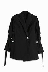 Ellery Gene Button Blazer Black