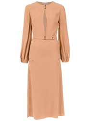 Spacenk Nk Midi Dress Brown
