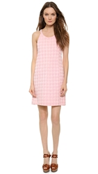 Wgaca Balenciaga '60S Houndstooth Dress Pink