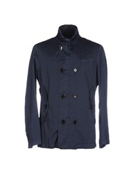 Allegri Overcoats Dark Blue