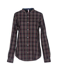 Sun 68 Shirts Dark Blue