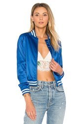 Lovers Friends X Revolve Bomber Blue