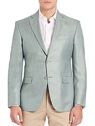 Jack Victor Collection Two Button Blazer Green