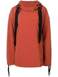Ambush Drawstring Hoodie Orange