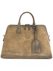 Maison Martin Margiela Large 5Ac Tote Brown