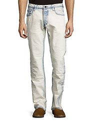 Prps Hero Straight Leg Enzyme Washed Jeans Enzyme Blue