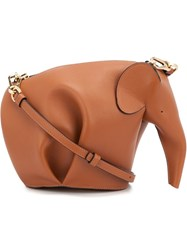 Loewe Elephant Shape Bag Brown