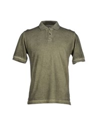 Alpha Massimo Rebecchi Topwear Polo Shirts Men Military Green