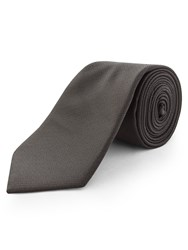 Limehaus Self Stripe Tie Black