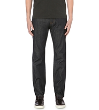 Paul Smith Standard Loose Fit Straight Jeans Dark Denim