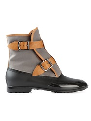 Vivienne Westwood Panelled Buckled Boots