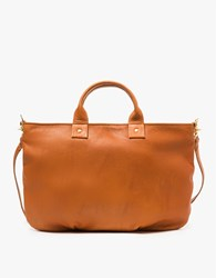 Clare V. Messenger In British Tan