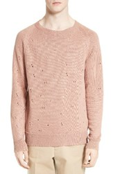 Our Legacy Men's Distressed Linen Pullover