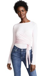Bailey 44 Bailey44 All Or Nothing Wrap Top Cherry Blossom