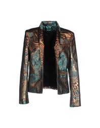 Anthony Vaccarello Suits And Jackets Blazers Women Turquoise