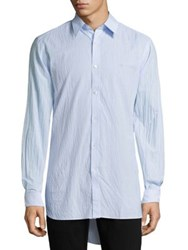 Burberry Streatfeild Button Down Shirt Light Blue