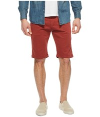 Mavi Jeans Jacob Shorts In Rosewood Twill Rosewood Twill Red