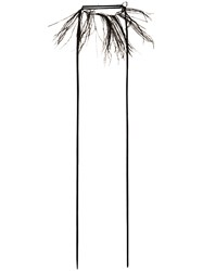 Ann Demeulemeester Feather Necklace Black