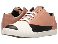 Marni Banded Low Top Sneaker Black Pink Men's Shoes